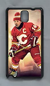 FLEURY CALGARY FLAMES Custom PC Transparent Case for samsung galaxy note 3 by LZHCASE