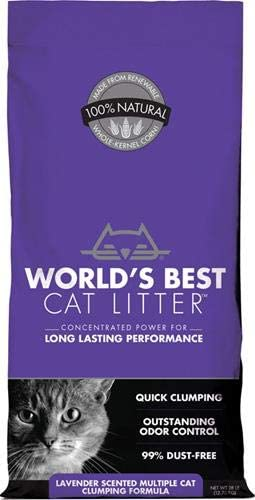 World's Best Cat Litter Clumping Flushable Cat Litter