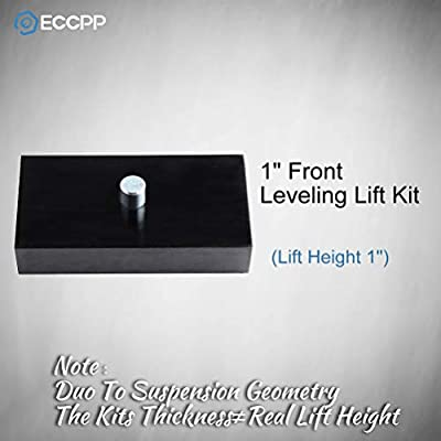 ECCPP Replacement Parts Leveling Lift Kit 1 inch Raise Your Vehicle 1 inch Rear Leveling Lift Kit Black Compatible with Ford F250 F350 Super Duty 1999-2020 4WD 2WD: Automotive