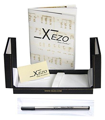 Xezo Diamond Cut Gel Ink Rollerball Pen (Incognito Purple R) by Xezo (Image #2)