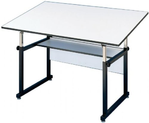 Alvin Workmaster Adjustable Drafting Table, Office Central