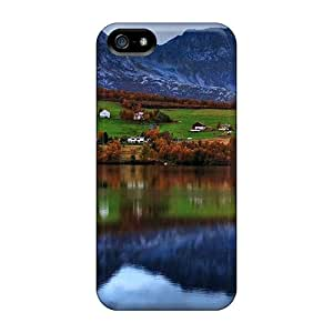 New Premium Ottercases Lovely Lscape Skin Case Cover Excellent Fitted For Iphone 5/5s