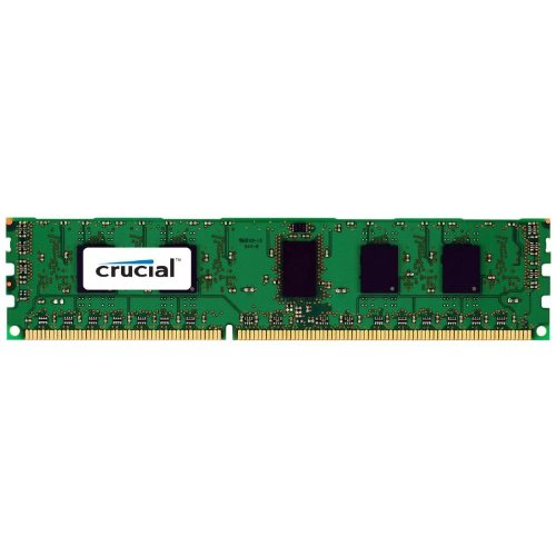 Crucial 16GB Single DDR3L 1066 MT/s (PC3-8500) QR x8 RDIMM 240-Pin Server Memory CT16G3ERSLQ81067