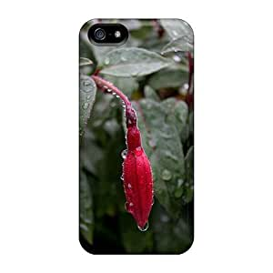 NadaAlarjane-051201 Case Cover Skin For Iphone 5/5s (water Droplets On Plant)