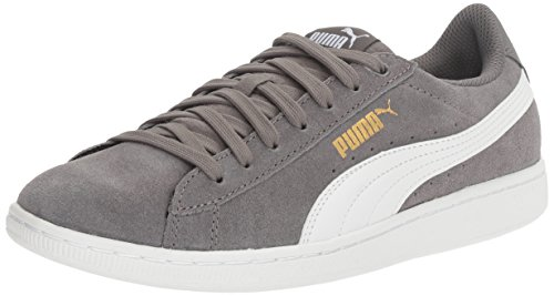 PUMA Women's Vikky Fashion Sneaker, Quiet Shade White, 7.5 M US
