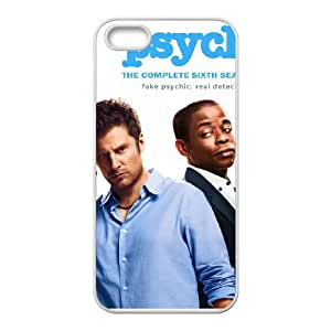 iPhone 5 5s Cell Phone Case White Psych M2374059