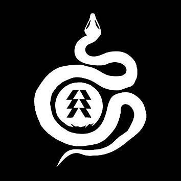Amazon Destiny Video Game Logo Hunter Snake Stickers Symbol 55
