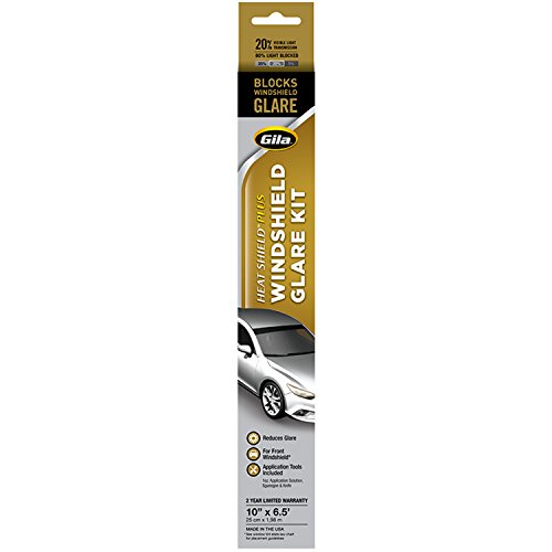 Gila 50166056 Heat Shield Plus Black Window Tint, 1 roll