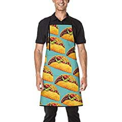 Durable Material: Polyester.       Can be decorated many ways such as by hand or machine embroidery or simply use as an every day apron.       Protect your favorite clothes from grease and stains by donning this grilling apron before y...