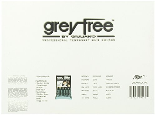 Greyfree Professional Temprorary Hair Color 18 Pieces Display by Greyfree (Image #2)