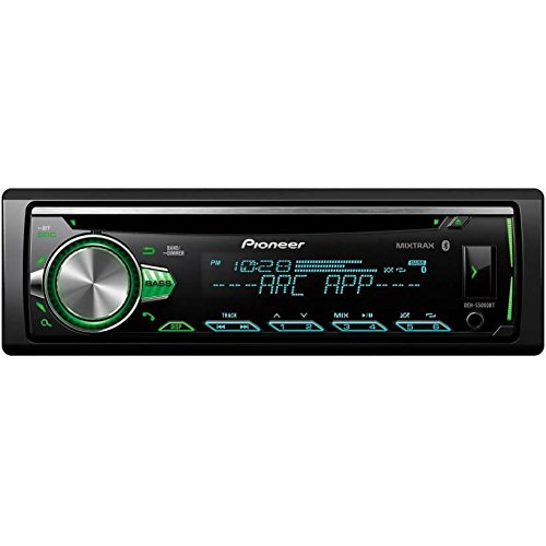 Pioneer DEH-S5000BT CD Receiver with Improved Pioneer ARC App Compatibility, MIXTRAX, Built-in Bluetooth, and Color Customization B07526JF15
