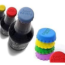 Rainbow Love Silicone Fresh Seasoning Beer Bottle Cap Beer Saver (10)