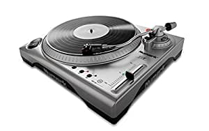 "Numark TTUSB | 33 1/3 & 45 RPM Turntable with USB Audio Interface, 1/8"" Input, RCA Output"
