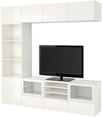 Ikea 2202 171420 3430 Meuble Tv Avec Tiroirs Et Portes En