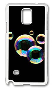 Adorable Colorful bubble Hard Case Protective Shell Cell Phone Samsung Galaxy Note3 - PC White