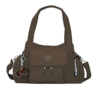 Kipling Luggage Fairfax Shoulder Bag with Removable Strap, Espresso, One Size
