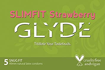 Glyde flavored latex condoms