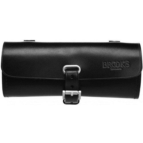 Brooks Challenge Tool Bag Leder Satteltasche Werkzeug Tasche, Challenge Tool Bag Schwarz