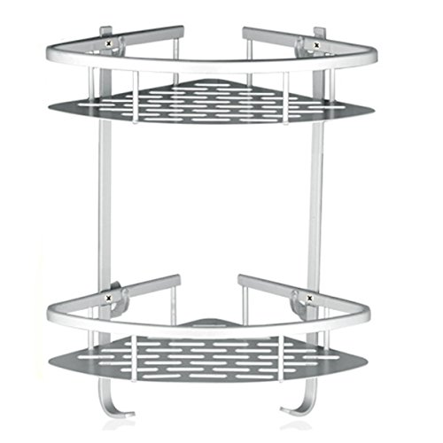 Fencher Bathroom Shelf ( No Drilling ) D - Suction Corner Shelf Shopping Results