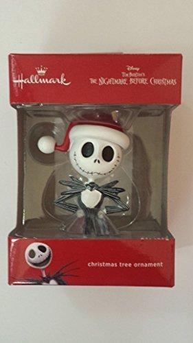 Tim Burtons Night Before Christmas Jack Skellington Christmas Ornament -