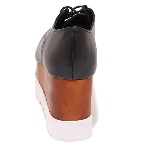 Jeffrey Campbell - Zapatos de cordones para mujer Negro negro negro