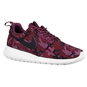 Nike Rosherun Print [655206 660] Men Casual Shoes Roshe One BurgundyRed White