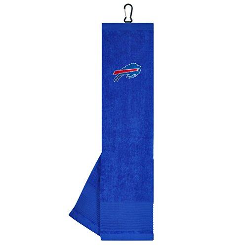 Team Effort NFL Buffalo Bills Face/Club Tri-Fold Embroidered Towel
