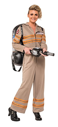 Halloween 2016 Costumes Women's (Rubie's Women's Ghostbusters Movie Deluxe Costume, Multi,)