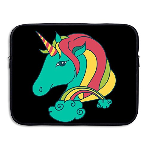 BANA Custom Unicorn-animal Shock-Resistant Laptop Protector Cover Bag 15 Inch