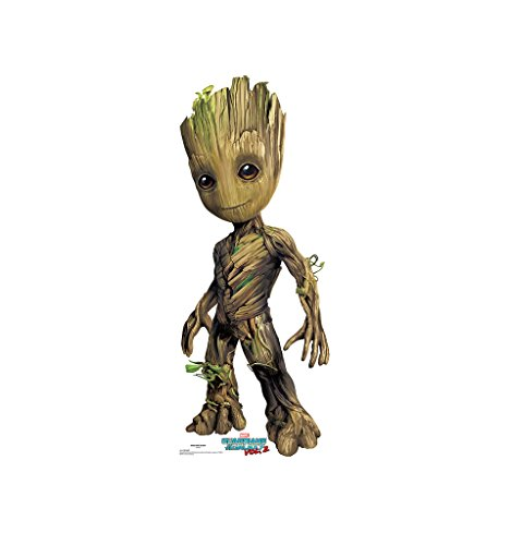 Groot - Guardians of the Galaxy Vol. 2 (2017 Film) - Advanced Graphics Life Size Cardboard Standup