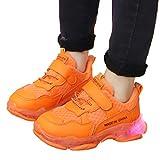 Amlaiworld Kids LED Slip on Sneakers Children Kid