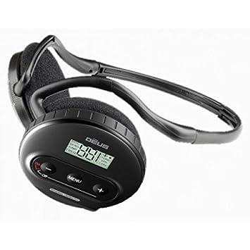 WS4 Auriculares Auriculares para XP Xplorer Deus Metal Detector metaldetector inalámbrico Nuevos: Amazon.es: Deportes y aire libre