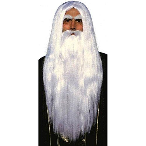 Merlin Wig and Beard Set by Forum Novelties (Merlin Wig And Beard Set)