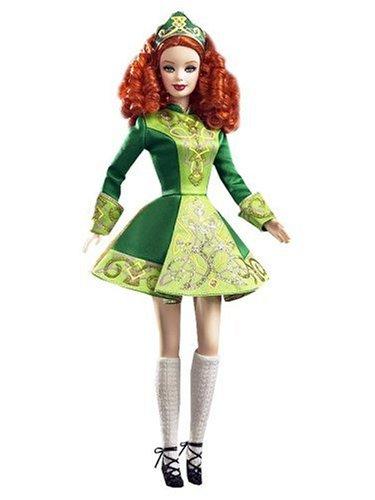 [Festivals Of The World: Irish Dance Barbie Doll] (Dancing Dolls Costumes)