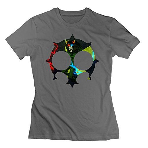 Tee Heir (THE CT T-Shirts for Women's Classic Homestuck Heir of Doom Tees DeepHeather,Small,DeepHeather)