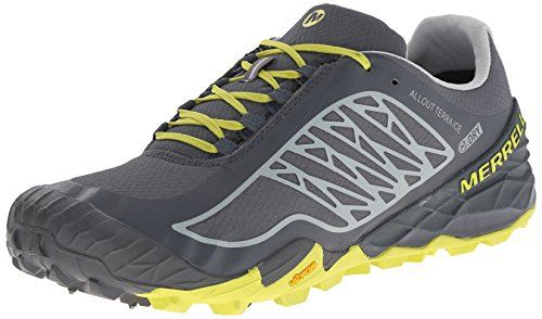 Terra Turbulence Merrell Trail Out Running Bright All Men's Waterproof Shoe Ice Yellow HzHq4twx