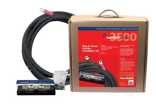 Samlex Solar DC-3500-KIT Inverter Installation Kit