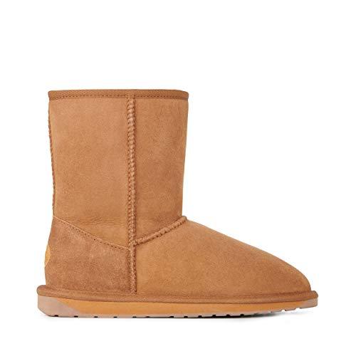 - EMU Australia Womens Stinger Lo Winter Real Sheepskin Boots Size 9