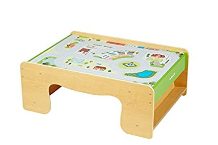 Amazon.com: EverEarth Train Table EE33665 by EverEarth: Toys & Games