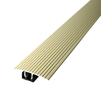 "M-D Building Products Cinch T-Molding w/SnapTrack (Fluted) 36"" Beige Beige"