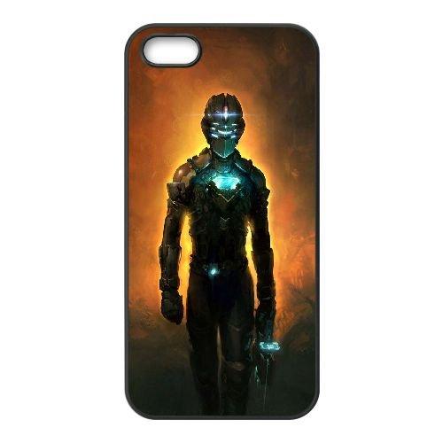 K2H17 espace mort E7F0VM coque iPhone 5 5s cellulaire cas de téléphone couvercle coque noire RW2PPO4LO