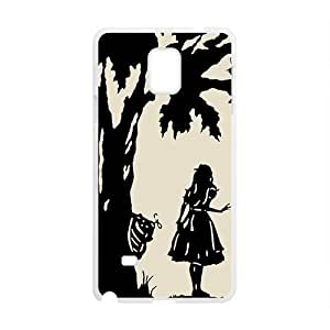 GKCB Alice anime cartoon Cell Phone Case for Samsung Galaxy Note4
