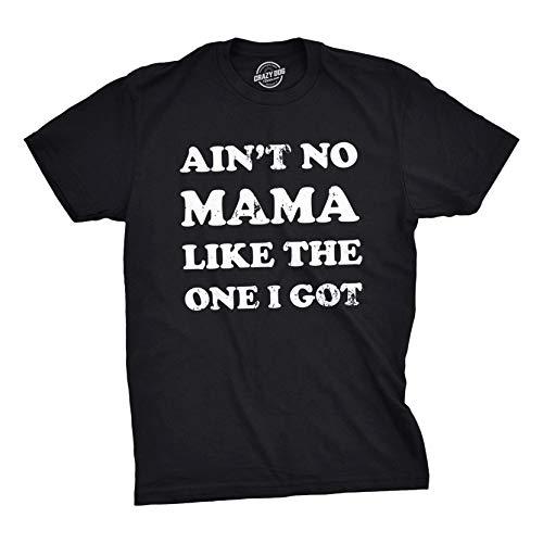 (Youth Ain't No Mama Like The One I Got Tshirt Kids Family Tee (Black) - XL)