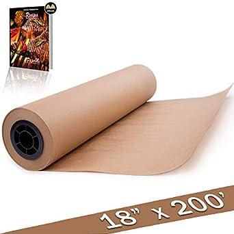 Amazon.com: café Kraft rollo de papel de carnicero 18