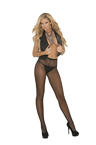 Fishnet Pantyhose Adult Hosiery Orange - One Size