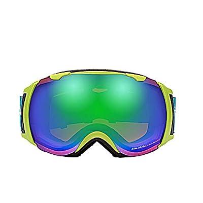 He-yanjing Ski Goggles, Anti-Fog Snow,UV Protection,Snowboard Goggles,Ski Goggles Men Women,Snow Goggles
