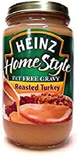 product image for Heinz Homestyle FAT FREE Roasted Turkey Gravy (Pack of 3) 12 oz Jars