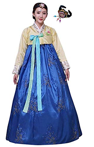 Around The World Fancy Dress Costumes Ideas - CRB Fashion Womens Korean Traditional Hanbok