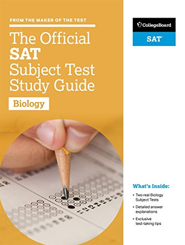 The Official SAT Subject Test in Biology Study Guide (College Board Official SAT Study Guide) cover