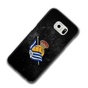 Real Sociedad FC Logo Samsung Galaxy S6 Funda Case Tough Antigolpes Drop Resistant Protective Case